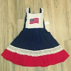 Other - Girl's American Flag Dress